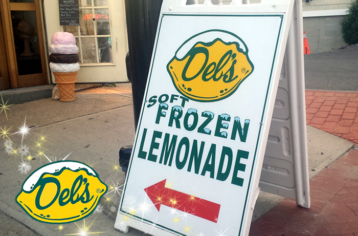 Dels lemonade cart rental
